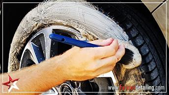 Nettoyer les pneus